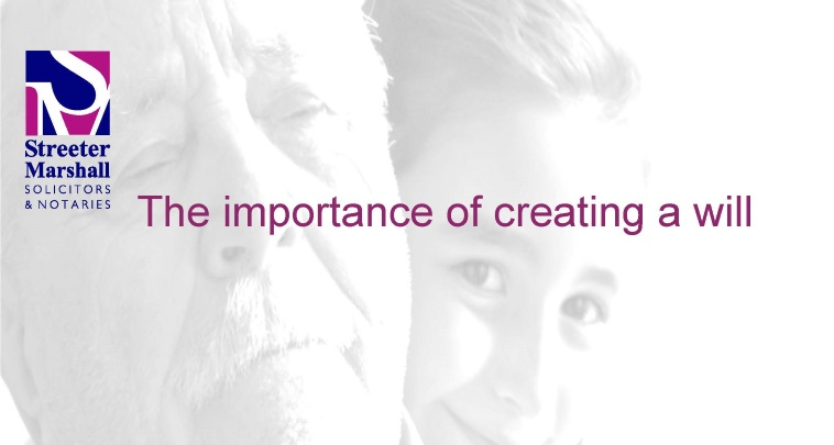 Importance of creating a will